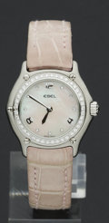 Timepieces:Wristwatch, Ebel Lady's Diamond Wristwatch. ...