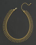 Estate Jewelry:Necklaces, Terrific 14k Gold Necklace. ...