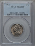 Jefferson Nickels: , 1952 5C MS64 Full Steps PCGS. PCGS Population (11/11). NGC Census:(0/4). Numismedia Wsl. Price for problem free NGC/PCGS ...