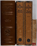 Books:Americana & American History, [Marquis de Lafayette]. Lot of Three Titles (in Four Volumes) ofBooks About Lafayette. [Various publishers, dates, editions...(Total: 4 Items)