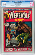 Bronze Age (1970-1979):Horror, Werewolf by Night #1/Richard Dragon #1 CGC-Graded Group (Marvel,1972) CGC.... (Total: 2 Comic Books)