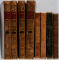 Books:Literature Pre-1900, [Literature]. Lot of Four Titles (in Eight Volumes) of Nineteenth-Century English and American Literature. [Various publishe... (Total: 8 Items)