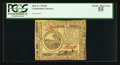 Colonial Notes:Continental Congress Issues, Continental Currency May 9, 1776 $6 PCGS Choice About New 55.. ...