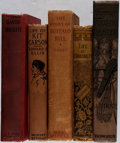 Books:Biography & Memoir, [Western Americana]. Lot of Five Titles of Western American Biographies. [Various publishers, dates, editions]. Generally go... (Total: 5 Items)