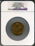 Assay Medals, 1941 U.S. Assay Commission Medal, Bronze -- Environmental Damage -- NGC Details. Unc. JK-AC-86....