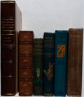 Books:Travels & Voyages, [Exploration]. Lot of Six Titles Related to Exploration and Travels. [Various publishers, dates, editions]. Generally good.... (Total: 6 Items)