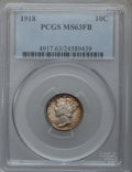 Mercury Dimes: , 1918 10C MS63 Full Bands PCGS. PCGS Population (93/302). NGCCensus: (42/184). Mintage: 26,680,000. Numismedia Wsl. Price f...