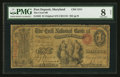 National Bank Notes:Maryland, Port Deposit, MD - $1 Original Fr. 382 The Cecil NB Ch. # 1211. ...