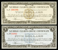 Obsoletes By State:California, San Diego, CA- San Diego Clearing House Certificates $5; $10 Mar. 6, 1933 Shafer CA600-5d; CA600-10d. ... (Total: 2 notes)