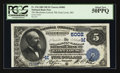 National Bank Notes:Missouri, Saint Louis, MO - $5 1882 Date Back Fr. 534 The Merchants-LacledeNB Ch. # (M)5002. ...