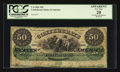 Confederate Notes:1861 Issues, T4 $50 1861 PF-2 Cr. 4 CC.. ...