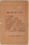 Books:Americana & American History, [Parody]. A Free and Independent Translation of the First andFourth Books of the Aeneid of Virgil... Winsted Herald...