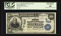 National Bank Notes:Kentucky, Louisa, KY - $10 1902 Date Back Fr. 616 The First NB Ch. # (S)7110....