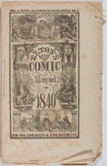 Books:Americana & American History, [Almanacs]. Elton's Comic All-my-nack for 1840. New York,1840. Original wrappers. Some foxing, soiling, wear. Good....