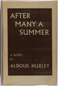 Books:Literature 1900-up, Aldous Huxley. After Many a Summer. Chatto & Windus,1939. First edition. Publisher's binding, dust jacket. Jack...
