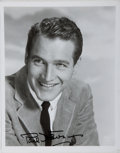 Autographs:Celebrities, Paul Newman. Original Signed Photo. Approx 8 x 10 inches. Verygood....