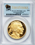 Modern Bullion Coins, 2011-W $50 One-Ounce Gold Buffalo, First Strike PR70 Deep CameoPCGS. .9999 Fine. PCGS Population (316). NGC Census: (0). ...