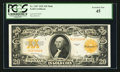 Large Size:Gold Certificates, Fr. 1187 $20 1922 Mule Gold Certificate PCGS Extremely Fine 45.. ...