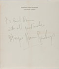 Books:Literature 1900-up, Marjorie Kinnan Rawlings (1896-1953, American Author). Autograph Note Signed. Hawthorn, [n.d.]. Approximately 7 x 6 inches. ...