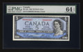 Canadian Currency: , BC-31b $5 1954 Devils' Face. ...