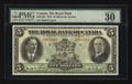 Canadian Currency: , Montreal, PQ - The Royal Bank of Canada $5 Jan. 2, 1927 Ch. # 630-14-04. ...