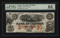 Canadian Currency: , Clifton, PC - The Bank of Clifton $5 Oct. 1, 1859 Ch. #125-10-04-06. ...