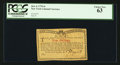 Colonial Notes:New York, New York January 6, 1776 (Water Works) 4s PCGS Choice New 63.. ...