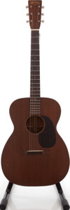 Musical Instruments:Acoustic Guitars, 1940 Martin 00-17 Natural Acoustic Guitar, Serial # 74400....