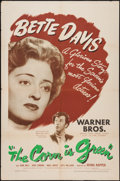"""Movie Posters:Drama, The Corn Is Green (Warner Brothers, 1945). One Sheet (27"""" X 41""""). Drama.. ..."""
