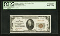 National Bank Notes:Kentucky, Middlesborough, KY - $20 1929 Ty. 1 The NB of Middlesborough Ch. #7086. ...