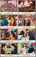 "Movie Posters:Academy Award Winners, Gone with the Wind (MGM, R-1968 and R-1974). Lobby Card Set of 8 (11"" X 14""). Academy Award Winners.. ... (Total: 8 Items)"