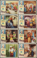 "Movie Posters:Adventure, Sabu and the Magic Ring (Allied Artists, 1957). Lobby Card Set of 8(11"" X 14""). Adventure.. ... (Total: 8 Items)"