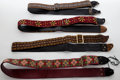 Musical Instruments:Acoustic Guitars, 1960s-1970s Vintage Bobby Lee Guitar Strap Lot of 4....