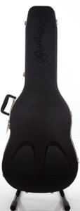 Musical Instruments:Acoustic Guitars, 2000s Martin Black Hard Guitar Case....