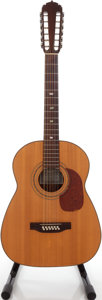 Musical Instruments:Acoustic Guitars, 1975 Pimentel Acoustic 12 Natural 12-String Acoustic Guitar, Serial # 495 2 NLF....