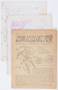 Magazines:Fanzine, Rocket's Blast Comicollector Group (G. B. Love, 1964-71) Condition: Average FN.... (Total: 8 Comic Books)