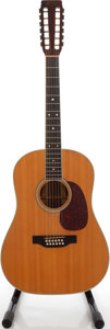 Musical Instruments:Acoustic Guitars, 1977 Martin D-12-35 Natural Acoustic Guitar, Serial # 389218....