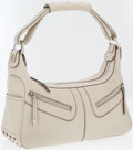 Luxury Accessories:Bags, Tod's Beige Leather Convertible Shoulder Bag. ...