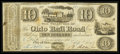 Obsoletes By State:Ohio, City of Ohio, OH - The Ohio Rail Road $10 Sep. 8, 1840. ...