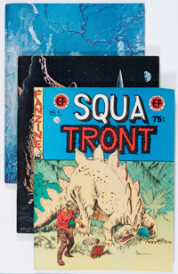 Squa Tront #2-6 Group (Jerry Weist, 1967-75) Condition: Average VF+.... (Total: 5 Comic Books)