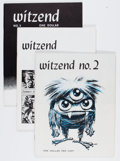 Magazines:Fanzine, Witzend Group (Wally Wood, 1966-71) Condition: Average VF/NM.... (Total: 8 Comic Books)