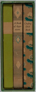 Books:Food & Wine, [Ward Ritchie Press]. Helen Evans Brown. Lot of Three Cookbooks.Ward Ritchie, [various dates, editions]. Three small octavo...