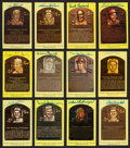 Baseball Collectibles:Others, Collection of 42 Signed Hall of Fame Postcards. ...