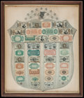 Fractional Currency:Shield, Fr. 1382 Fractional Currency Shield, With Gray Background VeryFine.. ...