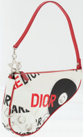 Luxury Accessories:Bags, Christian Dior Limited Edition Canvas Rock and Roll Saddle Bag. ...