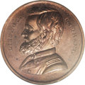 Civil War Merchants: , (1863) C.K. Warner, Pa-Ph-442, Philadelphia, PA, MS66 Red and BrownNGC. Copper, 26mm. This is a simply superb token promoti...