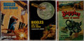 """Books:Fiction, Captain W. E. Johns. Lot of Three """"Biggles"""" Books. [Variouspublishers, dates, editions]. Generally good.... (Total: 3 Items)"""