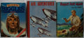"""Books:Fiction, Captain W. E. Johns. Lot of Three """"Biggles"""" Books. [Various dates,publishers, editions]. Generally good.. ... (Total: 3 Items)"""