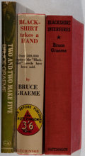 "Books:Mystery & Detective Fiction, Bruce Graeme. Lot of Three ""Blackshirt"" Books. [Various dates,publishers, editions]. Generally good.. ... (Total: 3 Items)"