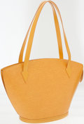 Luxury Accessories:Bags, Louis Vuitton Yellow Epi Leather St. Jacques GM Tote Bag. ...